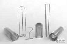 Pressure basket size 1+2, bag positioner, removal aid, installation aid, XXL pressure basket