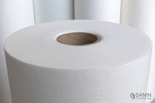 Cut surface of a roll