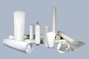 Filterbeutel, Beutelfilter, Filtersack, Sackfilter, Polypropylen, PP, Polyester, PES, Nylon, Nylonmonofilament, NMO, Hochleistungsfilterbeutel, Gewebefilterbeutel, Gewebebeutelfilter, Filterbeutel aus Nadelfilz, Filterkerzen, Kerzenfilter, Filterelemente