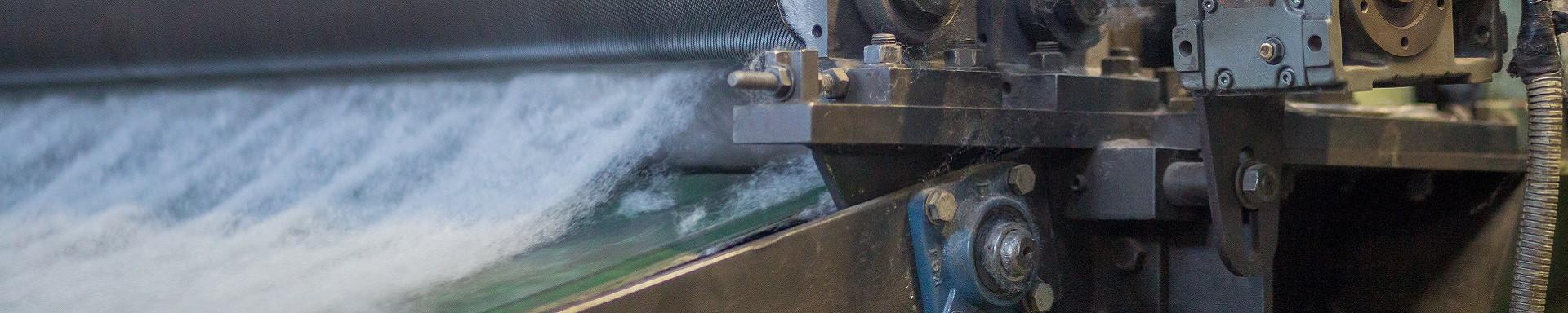 Filterrollen und Filtermatten für die Industrie