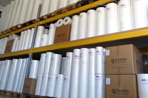 Filter fleece rolls