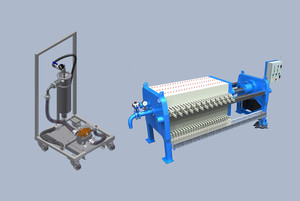 Mobile Filter Station and Filter Press